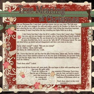 Christmas Symbols (with meanings) for Ornament