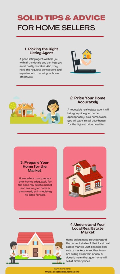 4 Real Estate Tips to Sell Your First Home