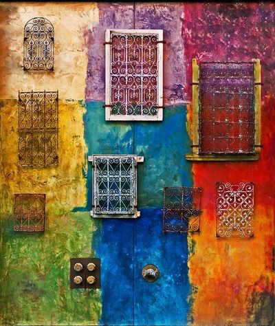 Colour for your soul--Idea: How about jewelry inspired by travel photography??