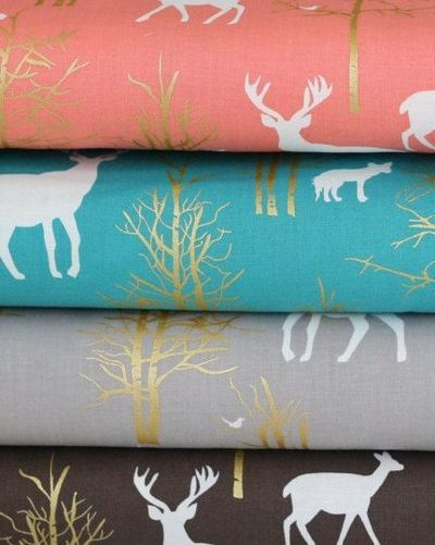 Baby Bedding Crib Nursery Sheets Woodland by ThePincushionStore