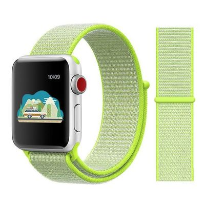 Nylon Sport Loop Strap For Apple Watch Band 44mm 42mm 38mm 40mm Series 5 3 4 2 1 $10.99
