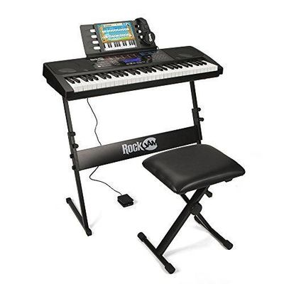Rockjam Rj761 Sk Key Electronic Interactive Teaching Piano