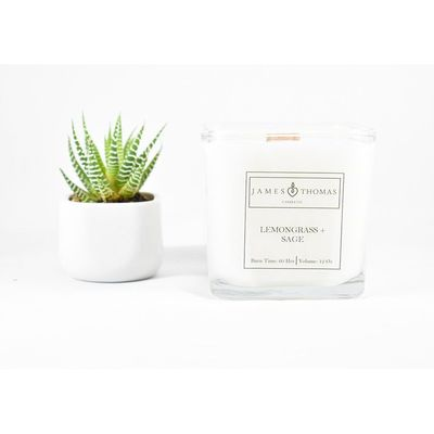 Lemongrass + Sage Classic Collection Candle $32.00