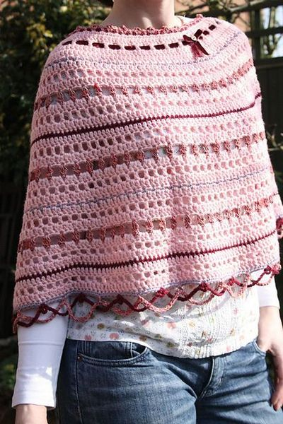 Ravelry Loopy Lou Poncho Pattern By Sandra Paul Crochet Ideas And Unique Crochet Poncho Pattern Ravelry