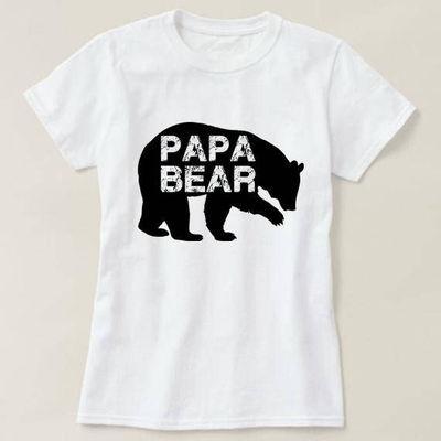 Papa Bear Shirt, Papa Bear T-shirt, Men's Crewneck Shirt, Gift for Dad, Father's Day Gift, Father's Day Shirt, Valentine Gift $14.50