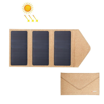 21W 5V Portable and Foldable Solar Panel Emergency Charging Bag Dual USB Outdoor Working