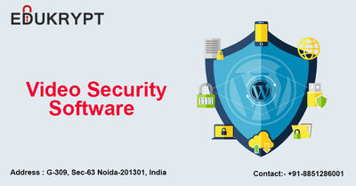You can protect your important lecture videos and tutorials through Video Security Software. It is a kind of encryption software which uses standard security tools for security purposes. Video Security Software is the only software developed in India by E...