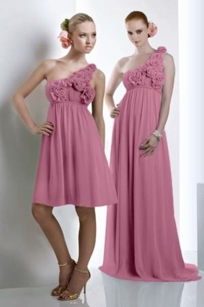 Style 910-911: Bridesmaids, Prom, Special Occasion & Evening: Bari Jay and Shimmer
