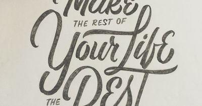 Make the rest of your life the best of your life! #quotes