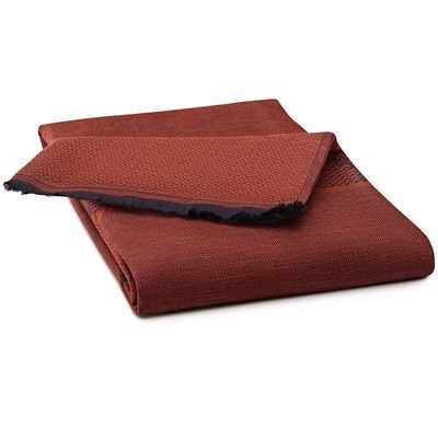 Slow Life Goji Throw by Le Jacquard Français $125.00