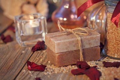 Oatmeal Spice Organic Exfoliating soap $9.99