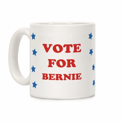 Vote For Bernie Ceramic Coffee Mug $14.99 �œ� Handcrafted in USA! �œ� Support American Artisans