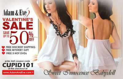 Looking What To Wear On Valentines Day Get Adam And Eve Sweet Innonce Babydoll Collection
