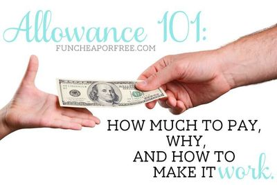 All things allowance! How much to pay your kids, why, and how to make it work for you. Here is a simple system that really works, and won't break the banks!