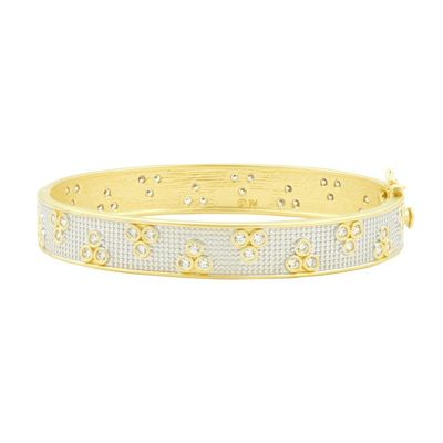 Fleur Bloom Hinge Bangle
