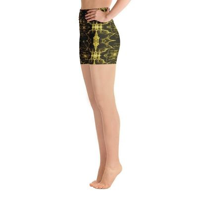 "Exclusively from And Above All YOGA --- ""Infinity"" Yoga Shorts for just $37.00 with FREE SHIPPING"