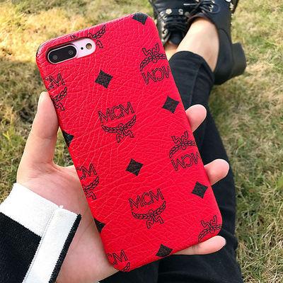MCM Claus iPhone 6/6 Plus Case in Red