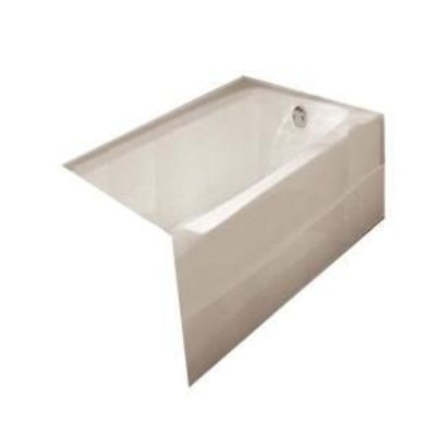 American Standard Spectra 5-1/2 ft. Cast-Iron Bathtub with Left-Hand Drain in White $1027