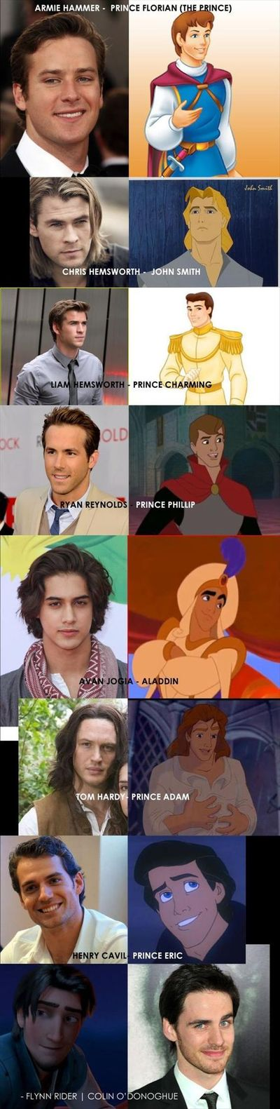 What Disney Princes would look like of they were real #princes #disney #funnyphoto