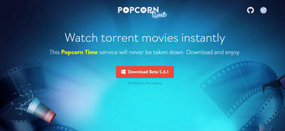 Free download Popcorn Time latest version for Windows to watch movies and TV shows online for free. In this article, you can also know more about other hot Popcorn Time versions.
