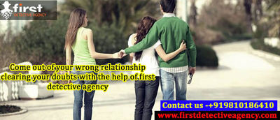 First Detective agency is the one of the best detective agency in Delhi. We have a team of investigators having good experience in multi-level cases. Visit:- https://bit.ly/2uogZkX
