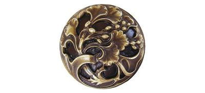 Notting Hill Florid Leaves Cabinet Knobs $30.00