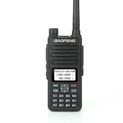 BAOFENG H6 128 Group Channels 400-520MHz 136-174MHz Dual Band Handheld Radio Walkie Talkie Driving Hotel Civilian Interphone Intercom With Earphone