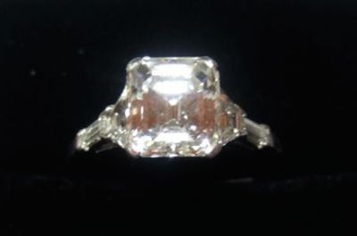 Emerald Cut. Would live this for 31st wedding anniversary.