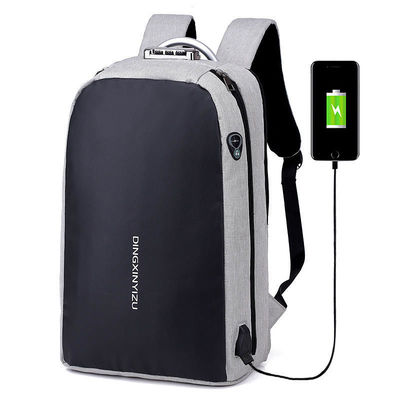 IPRee® 19L Anti-theft Backpack USB Charging Headphone Jack 16inch Laptop Bag Luminous School Bag