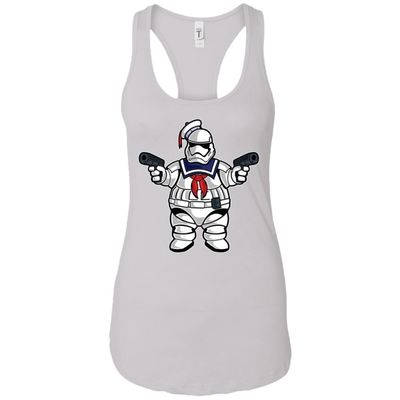 Marshmallow Trooper - Movies Art - Women's Racerback Tank Top $9.97
