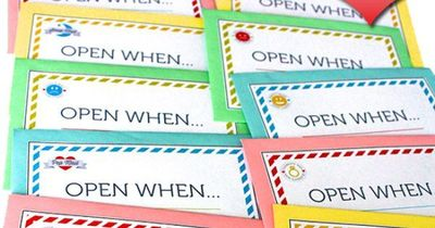 free printables to make your own open when letters the perfect romantic