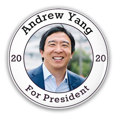 Pin-Back Buttpin-Back Buttons Andrew Yang For President 2020ons Pin-Back Buttons $12.00