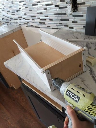 Easiest way to build kitchen drawers!