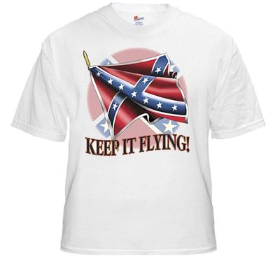 Rebel & Redneck Tees - Keep It Flying T-Shirt $17.99