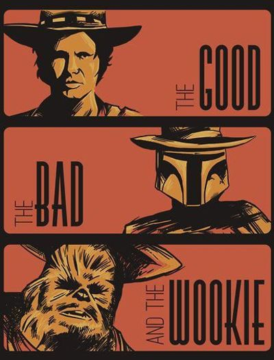 The good, the bad and the...wookie? - star-wars-comedy Photo