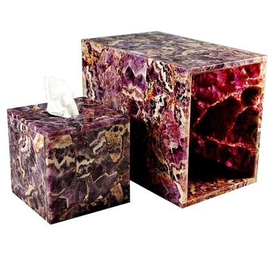 Taj Amethyst Bath Accessories by Mike + Ally $500.00