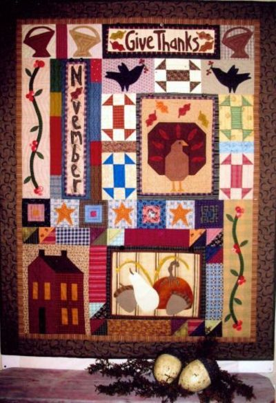 Folk Art Quilt Ideas : Joined at the Hip - Folk Art Quilt Designs and Original Patt... / quilting fever - Juxtapost