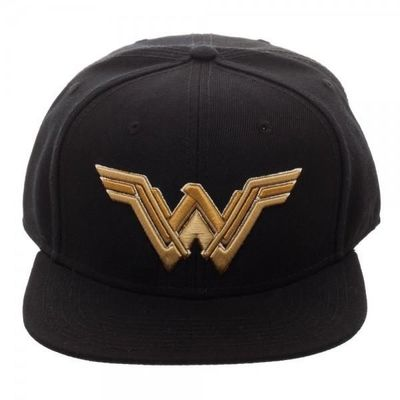 Core Line Wonder Woman Icon Embroidered Snapback $20.00