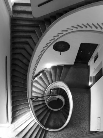 Palazzo Isolani, Bologna, Italy #Photography by Daniel Clements at Art.com #stairs