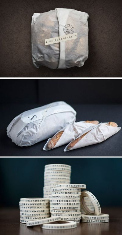 Breadshop is a craft bakery located in Honolulu, Hawai�€˜i which NAAUAO design their bread wrapping packaging. Owned and operated by Christopher Sy, an artisanal