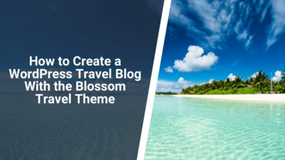 If you want to create a WordPress travel blog, the Blossom Travel theme is an excellent choice. It is a free WordPress theme from Blossom themes.