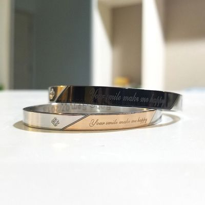 Customized Couple Bracelets Christmas Gift Set for 2 https://www.gullei.com/engraved-lovers-titanium-couples-bracelets-christmas-gift-set-for-2.html