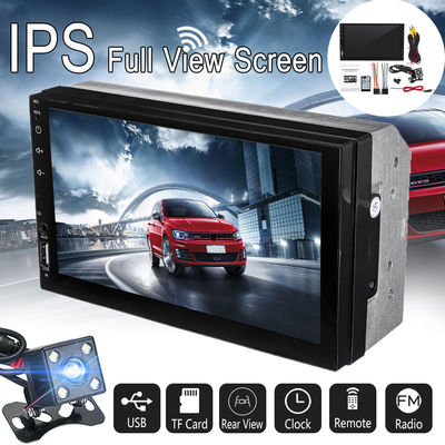 7002 7Inch 2Din Car MP5 Player IPS Touch Screen Stereo Radio MP3 FM bluetooth with Rear View Camera