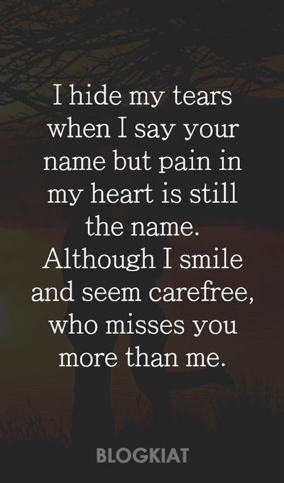 50+ Cute I Miss You Quotes, Sayings, Messages for Him/Her -v
