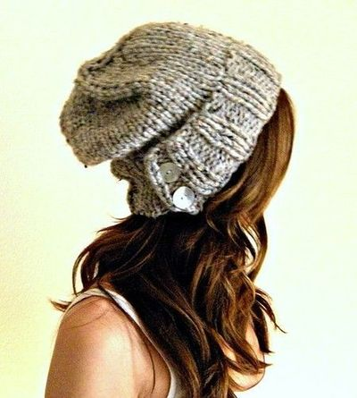 no pattern, but use a large sizes,needle and chunky yarn kni... / knits and k...