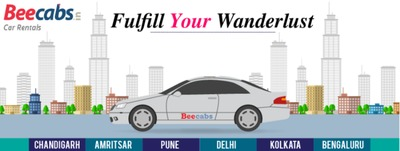 �€œGo, Fly, Roam, Travel, Voyage, Explore, Journey, Discover, Adventure.�€ - Hire cabs at your convenience in #Chandigarh, #Amritsar, #Pune, #Delhi, #Kolkata, and #Bengaluru. Try the Beecabs Car Rental experience today!.