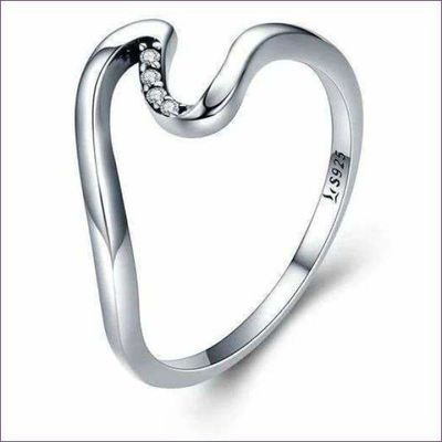 Silver Wave Ring £13.95