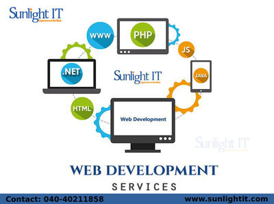 Web Development Services in Hyderabad Sunlight IT provides high-quality web development services in Hyderabad. We use the web applications having SEO standard as web development is important for online business. We have provided expert services to variou...
