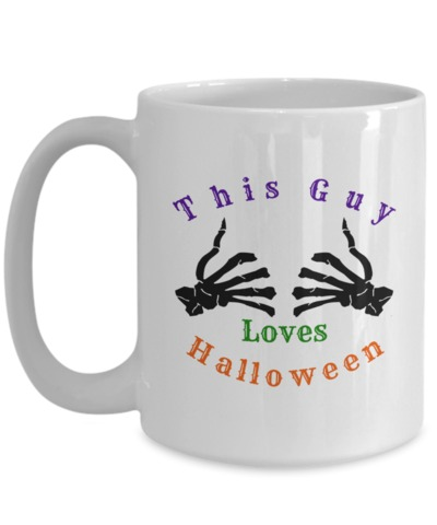 This Guy Loves Halloween $15.95