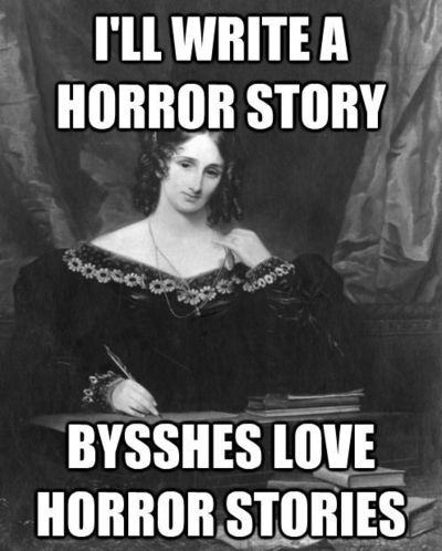 Bysshes Love Horror Stories Funny Stuff Juxtapost